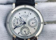 ساعة روتري اصلية فيها اربع الماسات