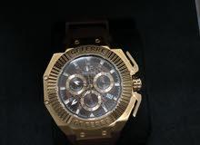 ساعة ماركة سويسرية GF Ferre بضمانها وكرتونها