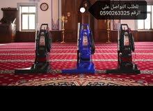 مكأنس مخصصة للمساجد مكنسة حمراءHM61