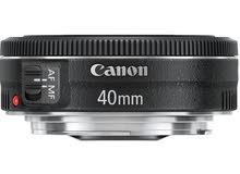 مطلوب عدسة Canon 40mm