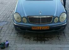 مرسيدس E240 2005 بنوراما للبيع او المبادله