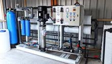 يوجد محطة ماء اورو كلش جديدة مشتغلة شهر واحد نوعيتها إيطالي أصلي وحجم واحد متر