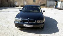 2002 BMW 745 for sale in Amman