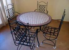 table en zellige marocain