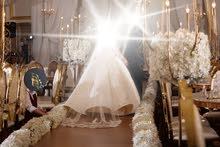 فستان زواج فخم للبيع