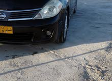 Nissan Tiida 2011 For sale - Black color