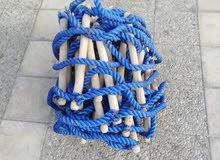 سلم حبل طول 25 م جديد بحاله ممتازة