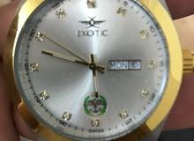 ساعة Exotic  رجاليه تحمل شعار الجيش العربي الاردني