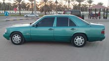 Turquoise Mercedes Benz E 240 1993 for sale