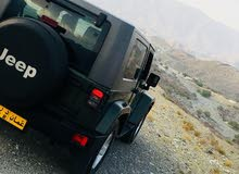 Green Jeep Wrangler 2008 for sale