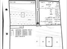 أرض سكنية في بركاء الهرم السادسة و على شارع مرصوف