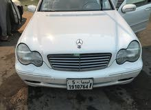 Mercedes Benz C 240 2003 For sale - White color