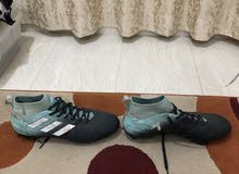 blue adidas shoes for sale size 45