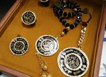 أطقم نحاسية مطلية بالذهب أو  الفضة صنع يدوى ذهب 24
