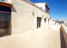 عبدون شقه مع رووف دوبلكس ذو مواصفات خاصه مساحة 435 متر