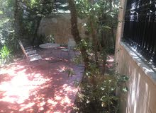 شقة أرضية مفروشة للإيجار في عبدون مع حديقة Super Deluxe سوبر ديلوكس