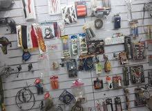 قطع غيار الدراجات النارية تعزيلة محل البيع شلع بسعر الجمله وبي مجال