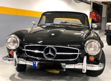 classic car Mercedes-Benz model 1956