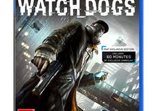 دسكة ps4 watch dogs 1