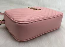 YSL Pink Leather bag
