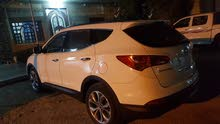 White Hyundai Santa Fe 2014 for sale