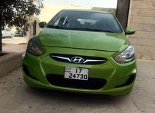 Hyundai Accent 2011 For sale - Green color