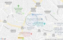 عمارة تجاربة بين منطقة الشميساني وجبل عمان وخلف ابراج العبدلي