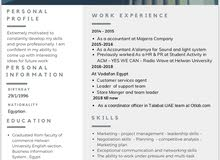 Searching for a customer care job