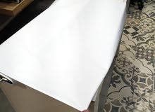عرض خاص قماش ياباني ابيض الكسوه 55 ريال الخامات (ثقيل _ وسط _ خفيف )