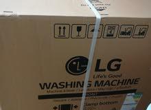 غسالة LG جديدة في كرتونها مع الظمان 10كيلو طبقتين
