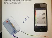جهاز وايرليس لقياس ضغط الدم بخاصية البلوتوث