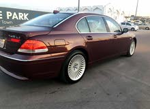 Available for sale!  km mileage BMW 745 2004