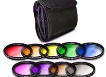Altura Photo 9pcs 67mm Complete Full Color Slim Filter Set .