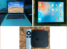 MacBook Pro Laptop+IPAD2 PRO 64G+ Apple TV3 for Bundle sale