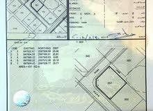 أرض في مرتفعات السادسة كونر مساحة الأرض631 متر