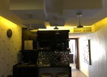 شقة مساحتها 100متر راقية جدا في منطقة الدوار السابع للايجار اليومي او الاسبوعي او الشهري