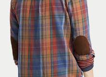 New Original PRL Madras Shirt Large Size..سعر نهائي
