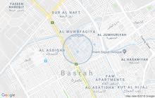 بصره شط العرب نهر حسن بالتنومه مساحه 200وسعره 60مليون بلوك ورقمي 07735225899