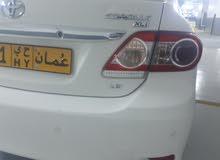 كرولا خليجي بدون حوادث وكاله عمان قوه المحرك 1800