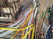 كهرباء سرسيون تأسيس شقة وطشطيب وصيانه