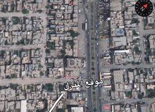 قطعة ارض للبيع 200م² (جميلة حي القدس) شارع العقلية (ع)