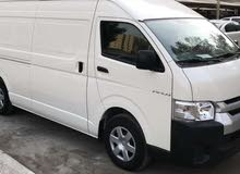 For a Month rental period, reserve a Toyota Hiace 2016