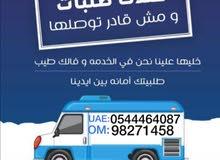 نقل وشحن فالامارات والي البريمي