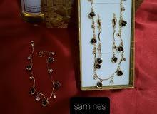 parure perlé en acier inoxydable garantie