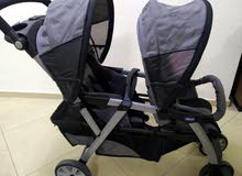 عرباية  توأم شيكو chicco twin stroller