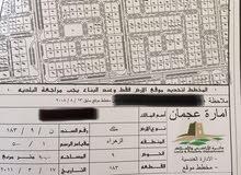 قطعه ارض للبيع في منطقة الروضه 2 بأمارة عجمان مساحة 10.000قدم