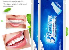 3D White Teeth Whitening Strips (Bandes de Blanchiment des Dents)