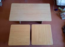 Coffee Tables (1 main 2 side tables)