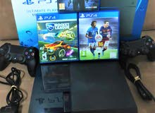 1TB PS4 Slim , with 3 Games and 2 controllers