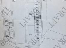 ارض للبيع ابو الزيغان الغربي  رقم الحوض 4 رقم القطعة 746  المساحة 646متر مربع